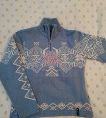 Norvég mintás sí pulcsi