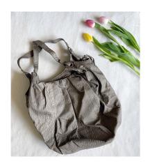 MEXX sötét agyagszínű pakolós táska