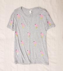H&M flamingós felső