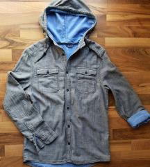 H&M kapucnis férfiing ing S