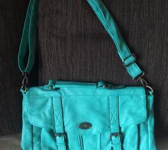Türkiz táska