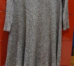 Pull&bear szürke ruha M