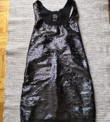 Fekete flitteres ruha