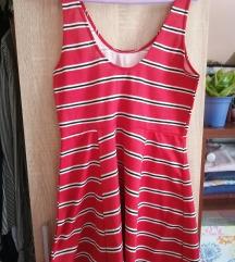 Piros H&M nyári ruha