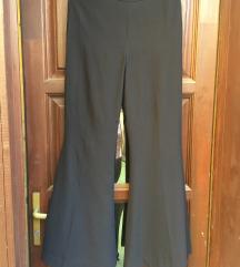 Weekday magasított derekú alkalmi trapéz nadrág
