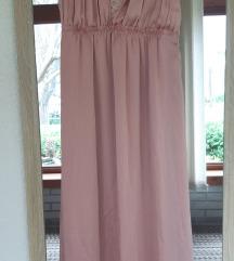 H&M púderrózsaszín koszorúslány / alkalmi ruha