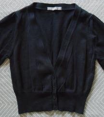 S, 36 - Fekete rövidujjú boleró, M&S