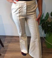 H&M fehér csontszínű nadrág trapéznadrág 36 S