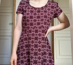 Burgundi nyári ruha