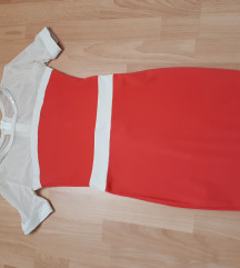 Új Mayo Chix korall színű ruha