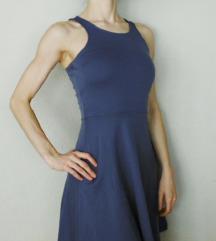 H&M ÚJ kék A-vonalú ruha