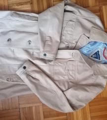 Tommy Hilfiger férfi valódi bőr kabát L /XL