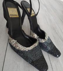 Szandál cipő flitterekkel