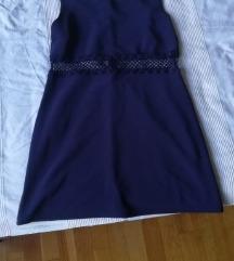 Kék alkalmi hálós ruha