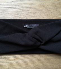 Zara fekete hajpánt