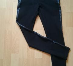 Zara bőrbetétes nadrág S