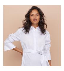 H&M bordázott ing saját övvel