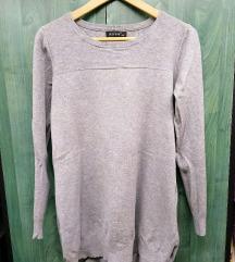 Hosszú pulóver ruha