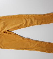 Mustársárga női nadrág