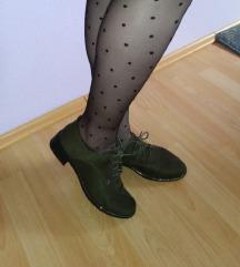 ÚJ csillámos khaki zöld cipő INGYEN POSTÁVAL