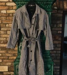 TOPSHOP kockás trench coat