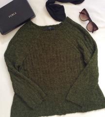 Next, mélyzöld használt pulóver