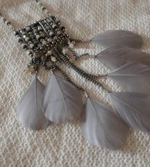 Bijou brigitte tollas, kőves nyaklánc