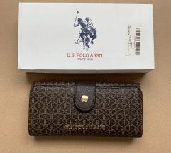 U.S. Polo ASSN. Eredeti pénztárca