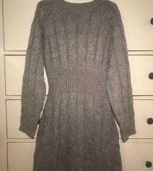 Szürke pulóverruha