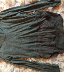 Zara khaki póló