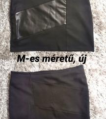 Új, Sowengo bőrbetétes miniszoknya