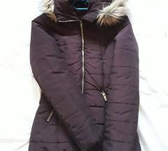 Bordó H&M kabát