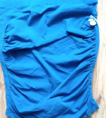 my77 S-es szoknya kék / pánt nélküli felső