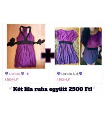 💜 Lila ruhák 💜 Egybe olcsóbb! (S/M)