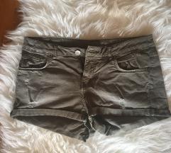 Khaki H&M short