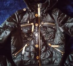 fekete szexy kabát S