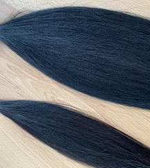 45cm - 34cm vegyesen, 100g 100% emberi haj