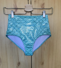 H&M mintás magas derekú bikini alsó