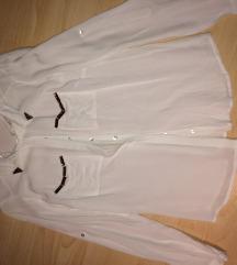 Reserved újszerű alkalmi fehér ing, blúz 2 méret