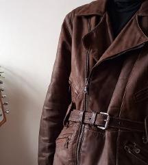 PYTHON bőr kabát XS