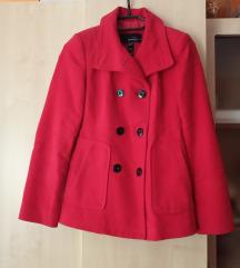 piros Mango kabát XS