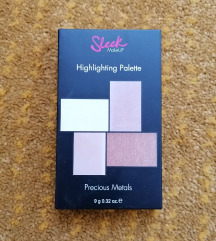 Sleek highlighter paletta