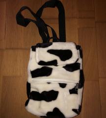 Szőrmés gyerek táska / hátizsák