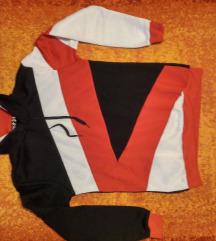 Férfi kapucnis  pulóver M-es
