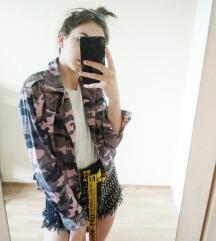 Tally Weijl camo crop kabát