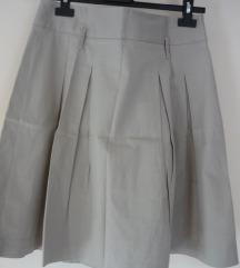 Zara világos drapp szoknya -50%