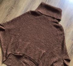 C&A barna pulóver