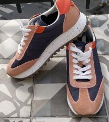 Zara orange contrast sneaker 40-es