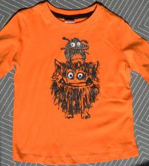 92, 2 év - Új narancssárga hosszú ujjú gyerek póló