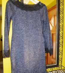 Szürkés tunika vagy hosszú pulcsi